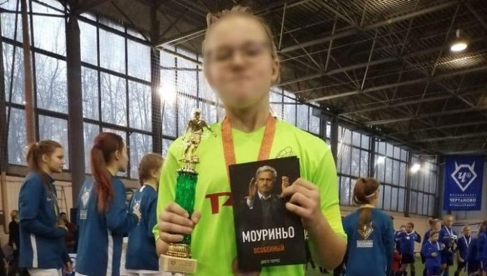 Young football player not allowed to participate in the tournament because she's a girl