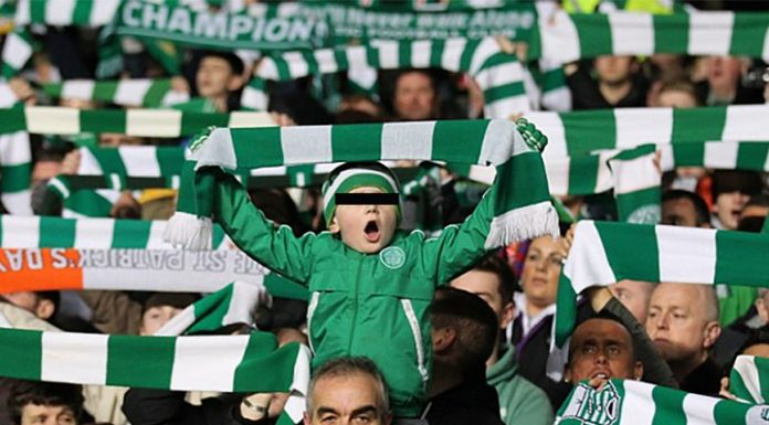 """Young supporter of the Scottish """"Celtic"""" was accused of racism"""