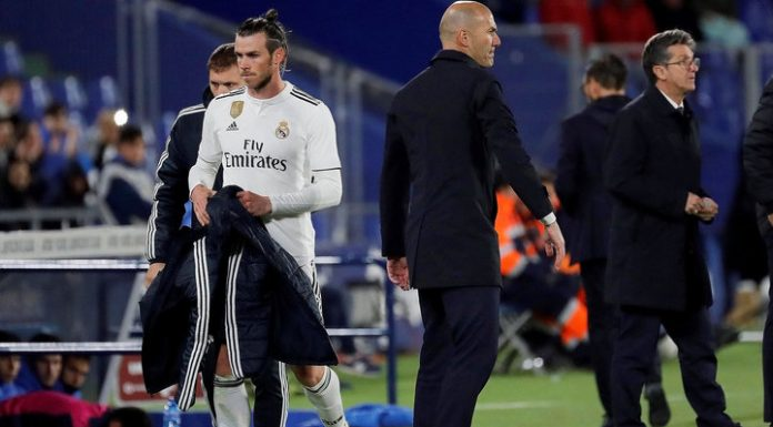Zidane vs Bale: the Frenchman is unhappy with the Welshman in training