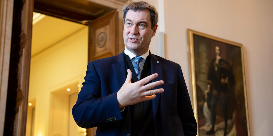 Markus Söder in the corona of a crisis: The false Hero – The ...