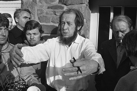 """Invisible"": what secret assistants were Solzhenitsyn"