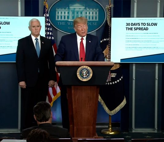 Trump: it was terrible times ahead 2-3 painful weeks. Forecast White house: during this time die to 240 thousand