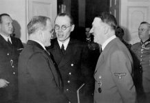 Why Hitler was hiding and was awarded the Iron cross award
