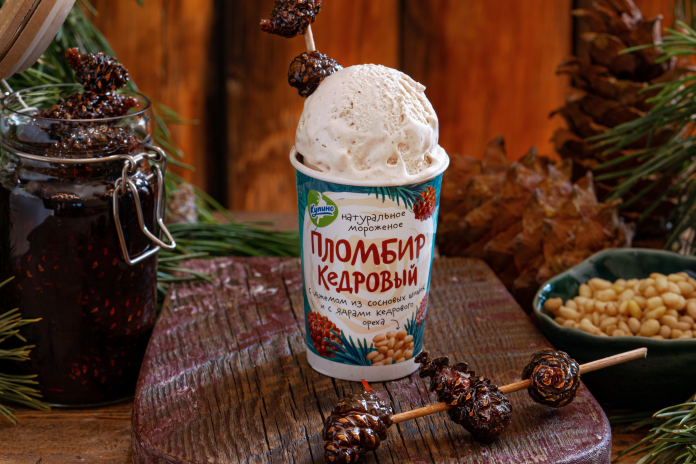 10 Siberians guessed new flavors of ice cream and the first prodemonstriruet them