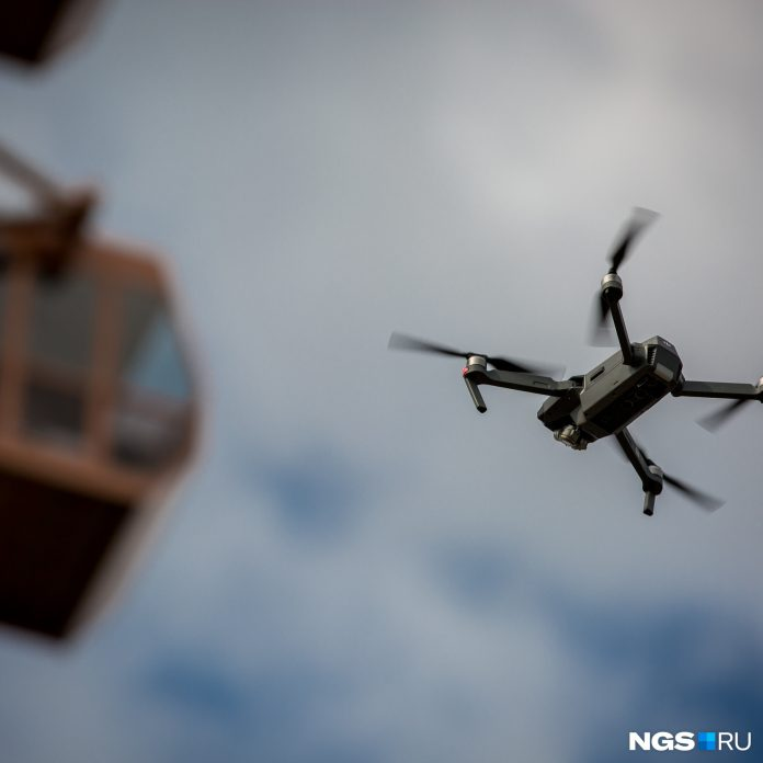 Drone illegally broke into the sky on may 9 — to understand, whether it could lead to a crash