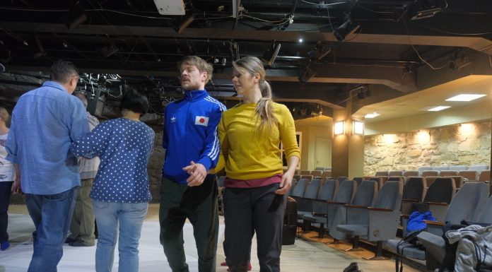 Finnish artists casting Novosibirsk — they picked a couple that come out with them on stage