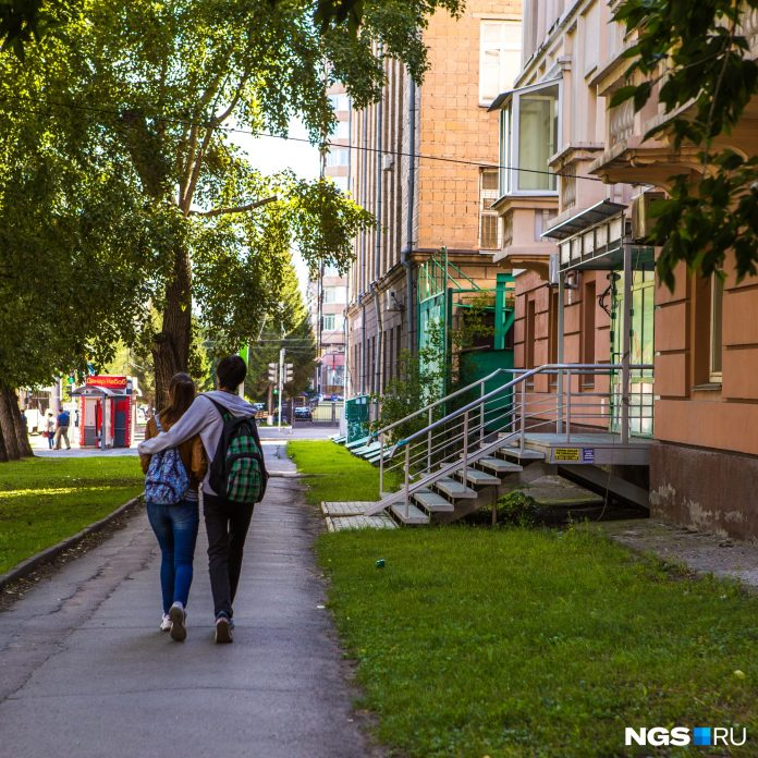 Forecasters said when the temperature in Novosibirsk will fall to 21 C
