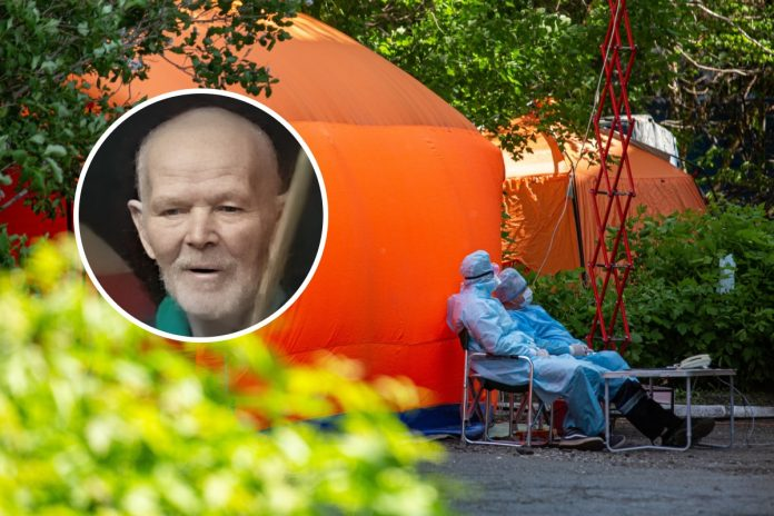 In Novosibirsk declared the search of the men who left camp near comignago of the hospital and disappeared