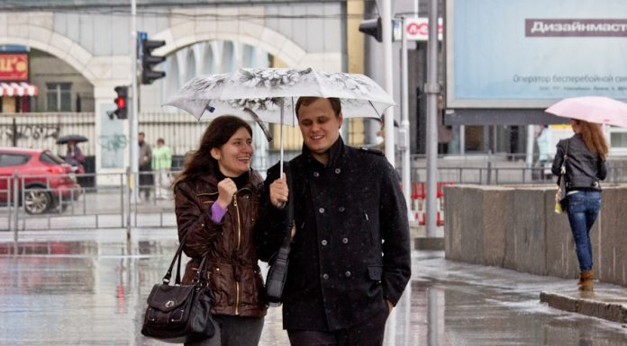 In Novosibirsk rains, sleet and strong winds forecast for the coming days