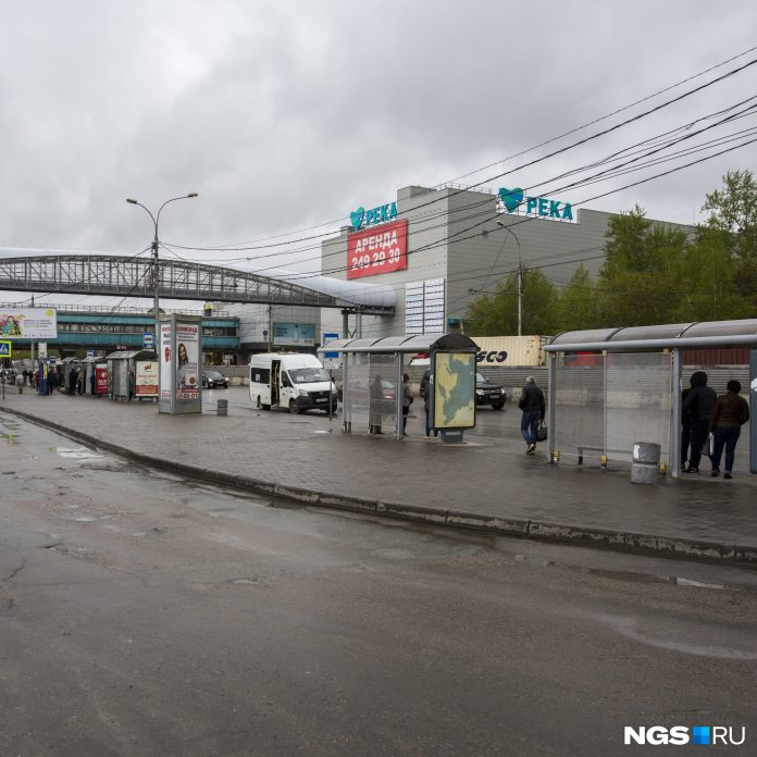 Near Rechnoy Vokzal in Novosibirsk will open a new stop for intercity and international buses
