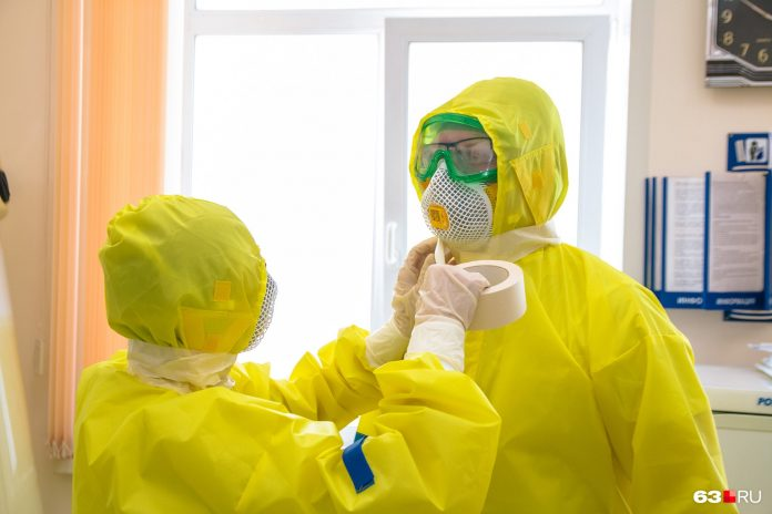 Roszdravnadzor: doctors NSO were only a week's supply of protective clothing. Ministry of health: it is not
