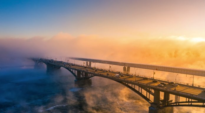 Say goodbye to cold winter — ethereal winter photo of the city of Fame Stepanova
