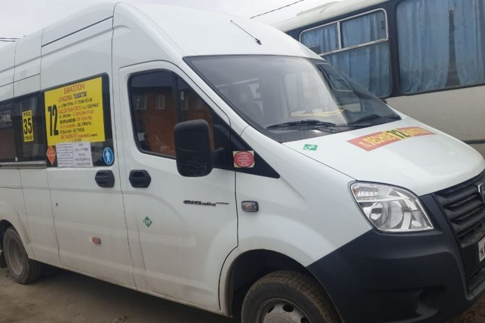 Several passengers of minibuses will forbid to go to the salon without masks