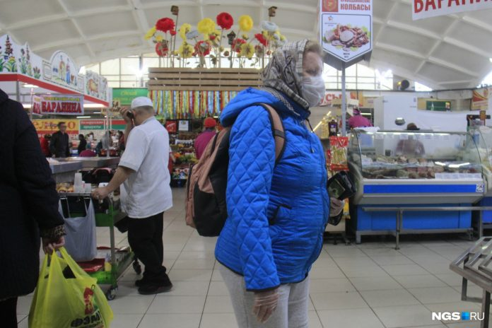 The city's residents rushed to the markets on the last day before they are closed — as it was