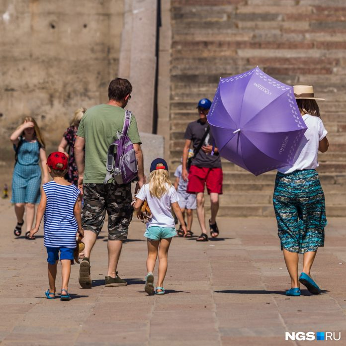 The heat will weaken one day only: Novosibirsk weather forecasters have predicted the weather for the weekend