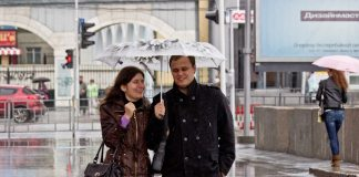To Novosibirsk the rains are coming — tell when they will start