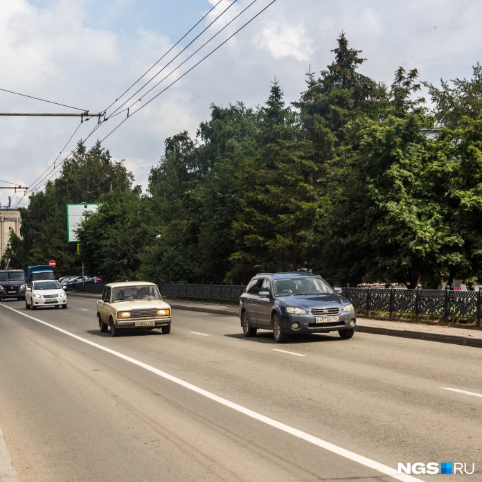 Where is everyone? Morning traffic jams in Novosibirsk has fallen to just 2 points
