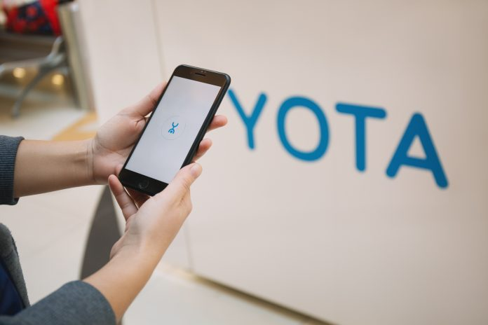 Yota started selling SIM cards for smartphone on Tmall