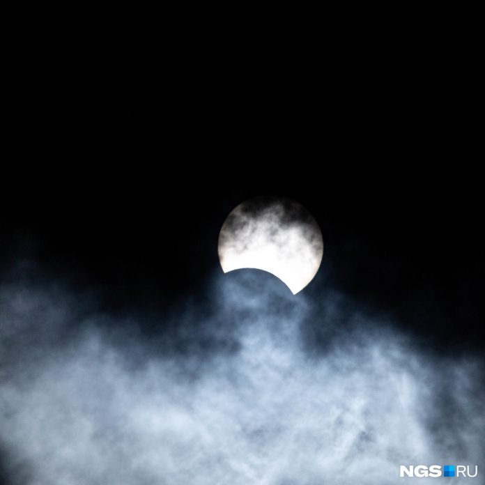Annular solar Eclipse over Novosibirsk: how it was