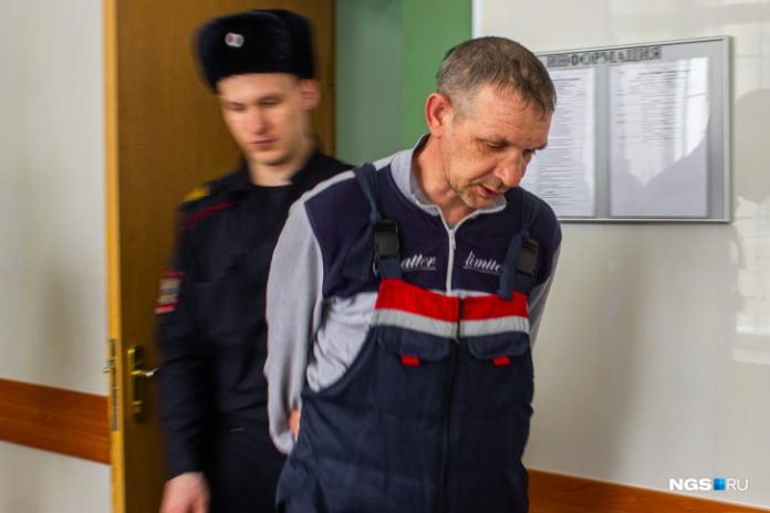 Before the trial came the case of Novosibirsk, who took hostage the wife at the store on Fadeeva