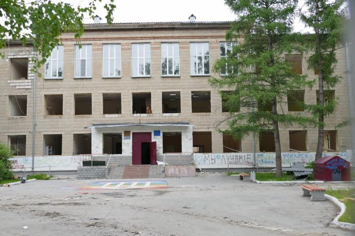 In Akademgorodok began to demolish the gymnasium — publish the video with the destruction