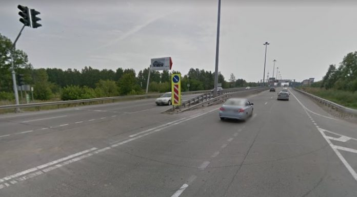 In Novosibirsk have decided to repair a mile of the Soviet highway — show on the map