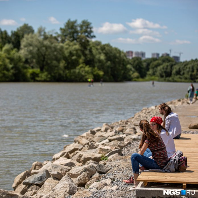In Novosibirsk have started to build a new urban waterfront — it will pass along the