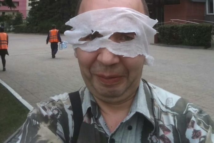 In Novosibirsk the disabled person was fined 1,000 rubles for strange wearing the mask (although very strange)