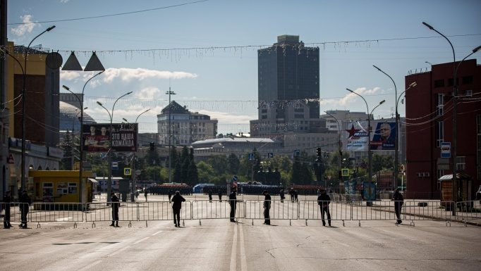 NGS will show the live broadcast of the Victory parade in Novosibirsk