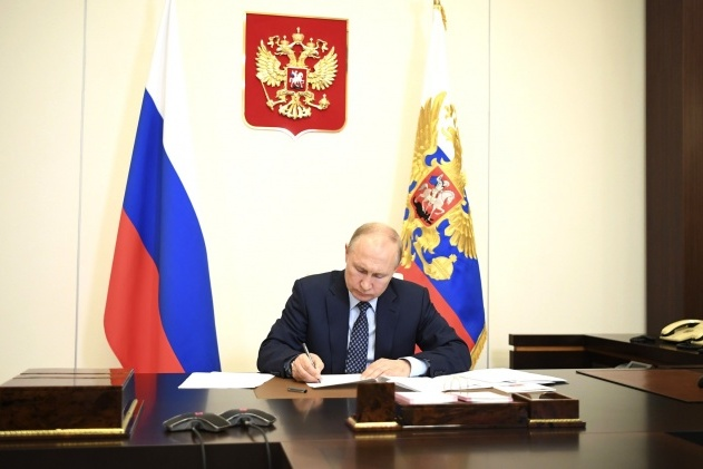 Putin awarded the honorary title of the locomotive from Novosibirsk