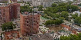 """""""Rattle, squeak, squeal"""": the workers launched a noisy work at night on construction of a new residential complex in Leninsky district"""