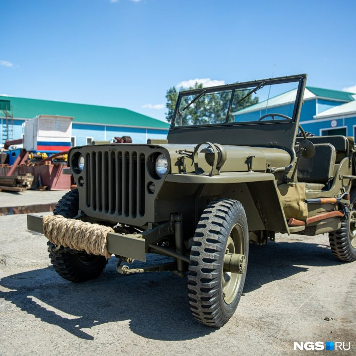 Siberian spent 1 year and millions of rubles to repair 77-year-old jeep up to state
