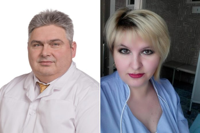 Surgeon Andrew Halzov and nurse from the city of Iskitim were in the
