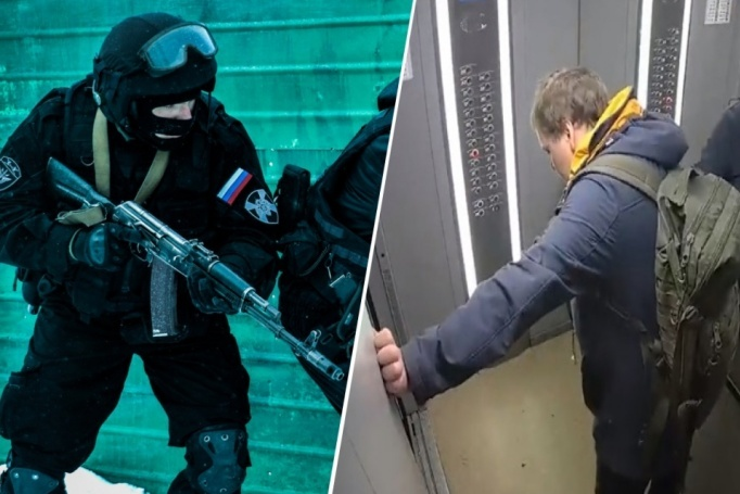 The assault began at midnight, there was a video from Yekaterinburg, where Regardie shot the thief Wallpaper