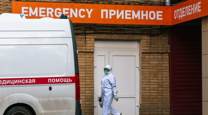 The number of victims of coronavirus in Russia has increased to 5 thousand a day died, the 182 people