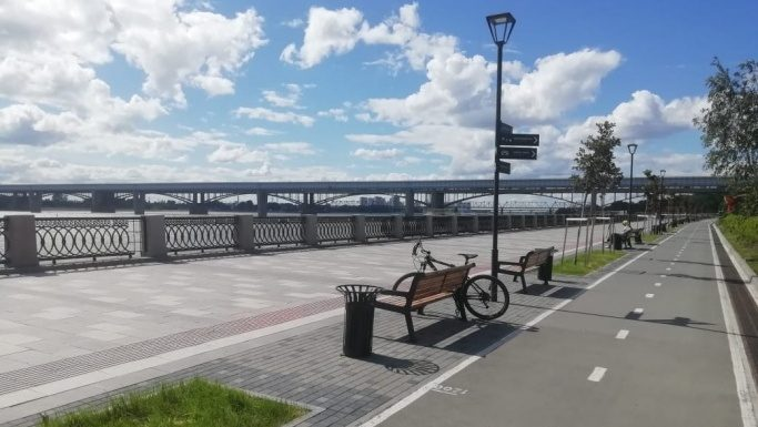 Began a new phase of the reconstruction of the Mikhailovskaya waterfront — want to finish by autumn