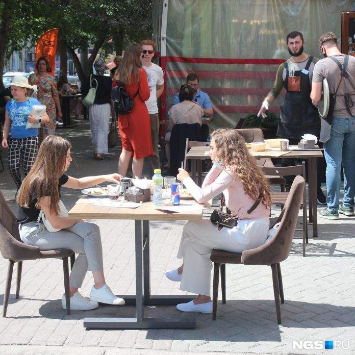 City-letnik: Novosibirsk became the leader of growth in the number of street verandas in Russia