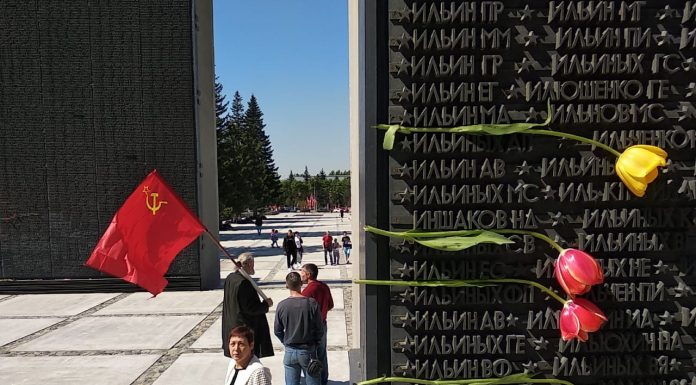 """Enough vague and """"rural"""" stelae: a local historian about why Novosibirsk is not necessary Stela """"the City of labour valour"""""""