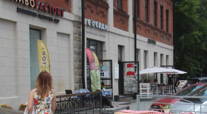 In Novosibirsk has appeared more than 120 new patios