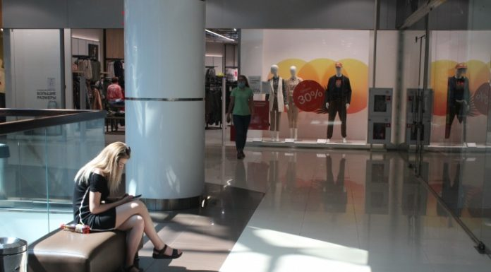 """""""In torn pants still nobody came."""" An employee of the Mall told why he is afraid to go to work"""