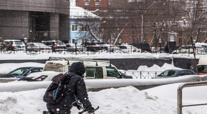 Last winter in Novosibirsk entered the top-5 most of the snow and warm for half a century