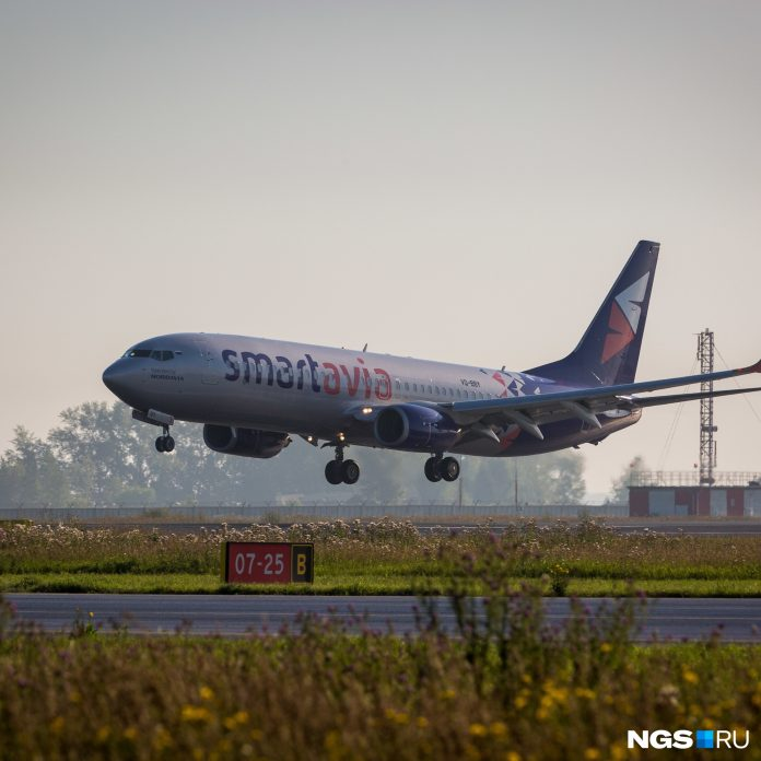 Novosibirsk became one of the cities where unable to resume international flights