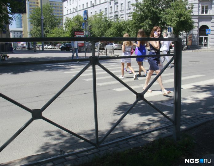 Novosibirsk will purchase 9 miles of walking fences — tell, on what crossroads will put them