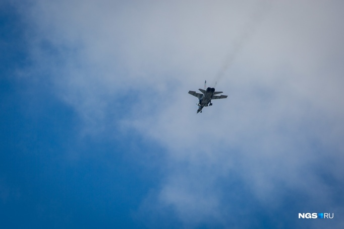 Over the Novosibirsk swept fighters tell why they came