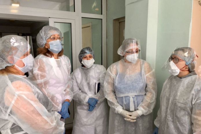 Preparing for an influx of patients: one hospital in the Novosibirsk region is given by chavigny hospital