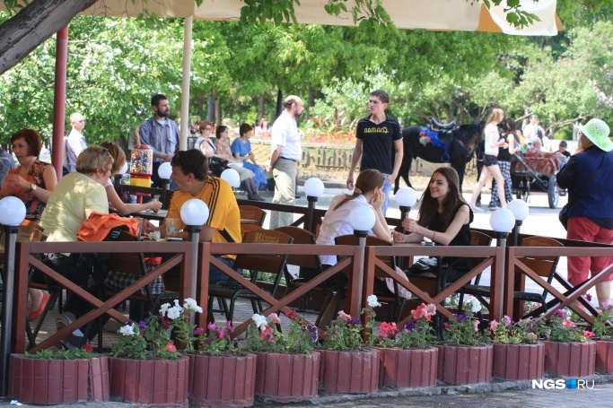 The mayor of Novosibirsk has allowed restaurants to use under annuals more land (published document)