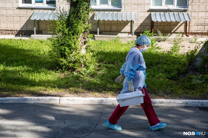 Deaths from the coronavirus in the Novosibirsk region for more than 300 people