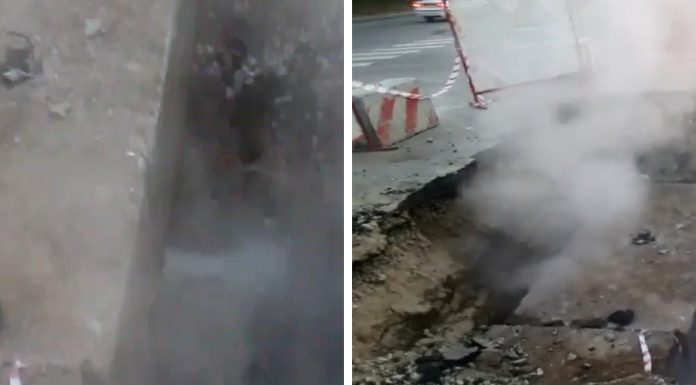 """""""The water goes nowhere"""": from the pit to Kurchatov three days was steaming hot and pouring boiling water"""