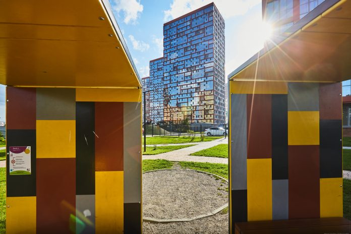 What city do give a mortgage at 2.1 per cent: there is a large Park and modern architecture